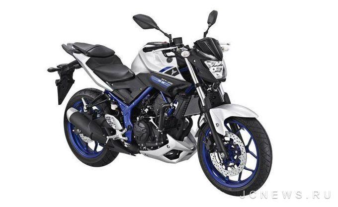 Yamaha MT-25 был официально представлен в Азии