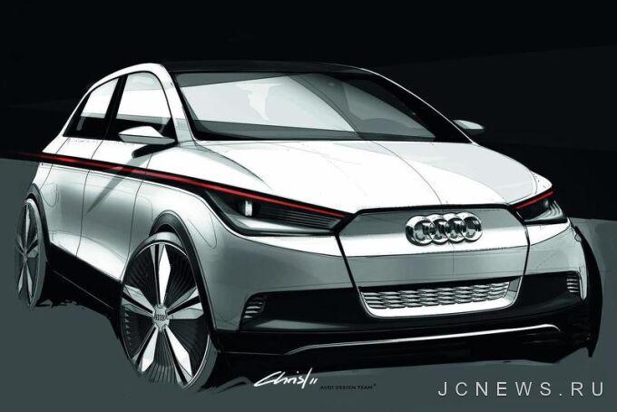 Новый городской автомобиль от Audi следует ждать к 2019 году