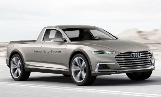 Audi построит свой пикап Amarok