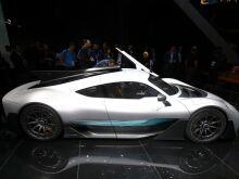 Mercedes-AMG Project One: фото с Франкфуртского автосалона