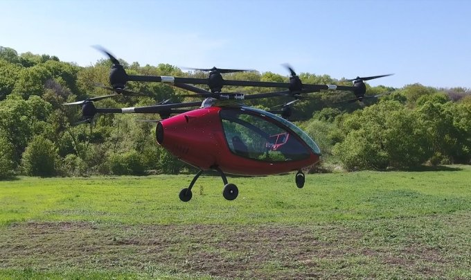 Пассажирские дроны могут выйти в продажу уже в следующем году