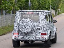 Mercedes G-Class покажут в январе