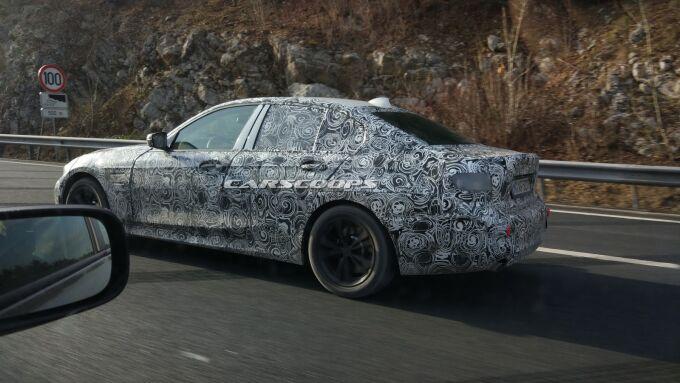 BMW тестирует новые 3-Series и Mini Cabrio в Словении