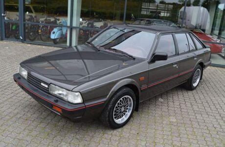 Капсула времени: в Дании продают «новую» Mazda 626 1987 года