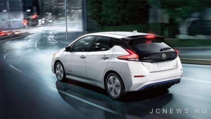 Nissan Leaf получит модификацию с увеличенной дальностью